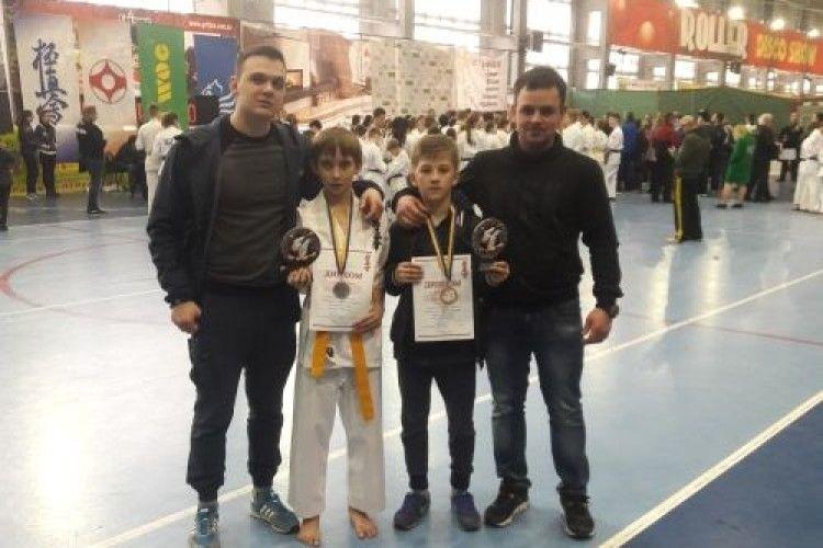 Ковельчани завоювали срібло на чемпіонаті України з карате