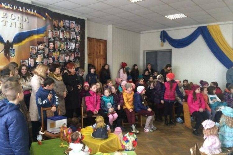 У Рожище на день лялькаря приїхали ляльки з усього району (ФОТО)