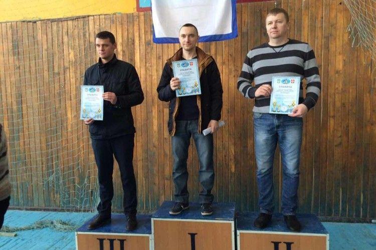 Волинські рятувальники виграли обласний Чемпіонат з гирьового спорту