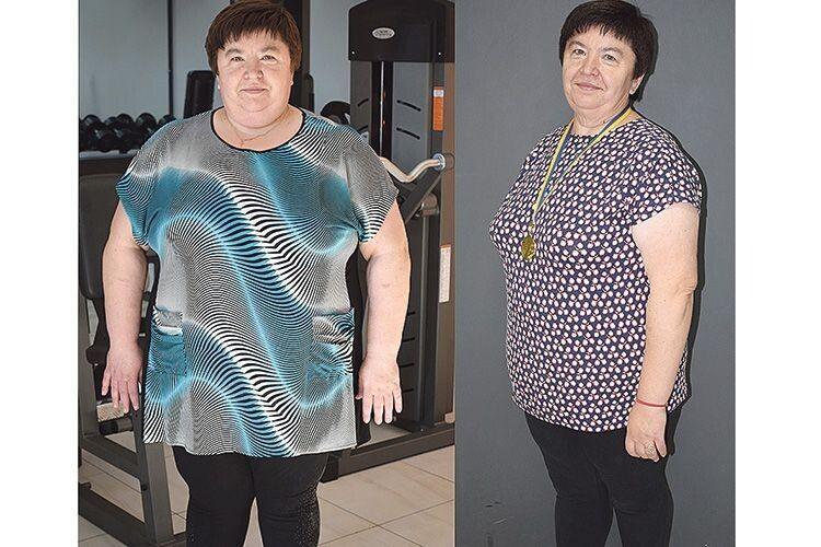 «Прикладом для всіх є пані Вероніка,  яка позбулася 50 кілограмів…»