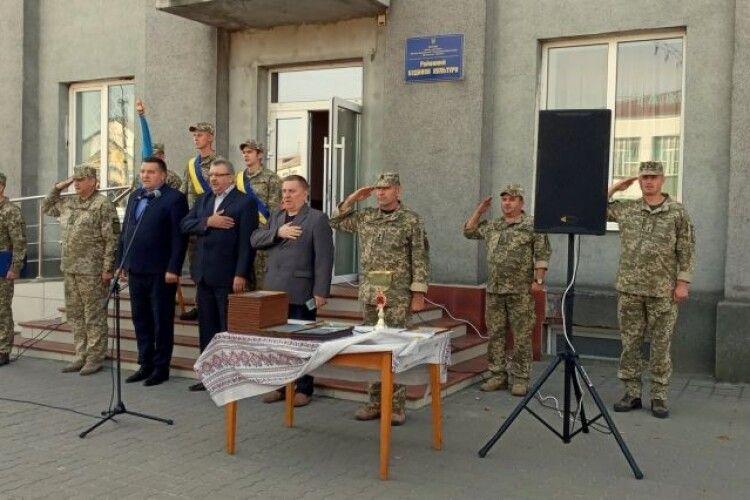 Камінь-Каширський окремий батальйон – кращий підрозділ територіальної оборони області
