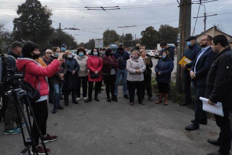 Після розмови з мешканцями внесли зміни в генплан Луцька