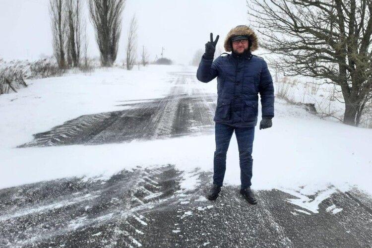 Перемітає через дві години: луцький мер перевіряє, як чистять дороги (Фото, Відео)