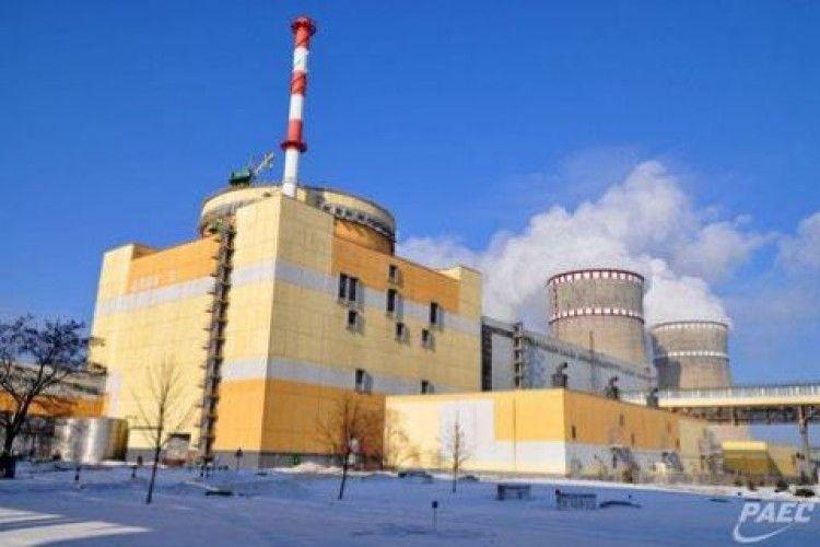 Енергоблок №2 Рівненської АЕС відключився від мережі