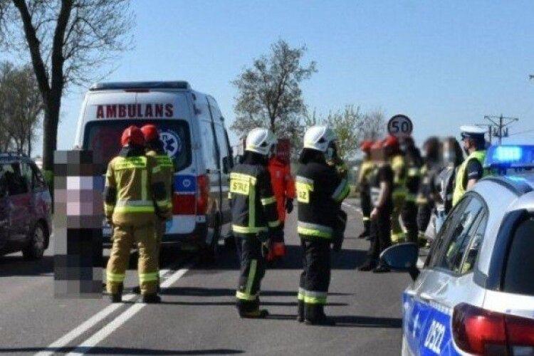 У Польщі в ДТП загинув 9-річний хлопчик з України