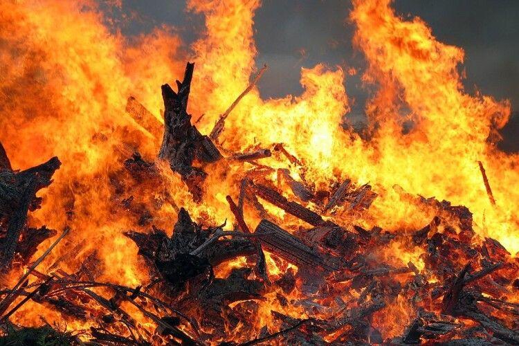 На Волині у пожежі загинув 52-річний чоловік