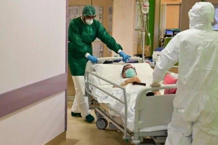 COVID-19: на Волині за два тижні удвічі побільшало хворих в лікарнях