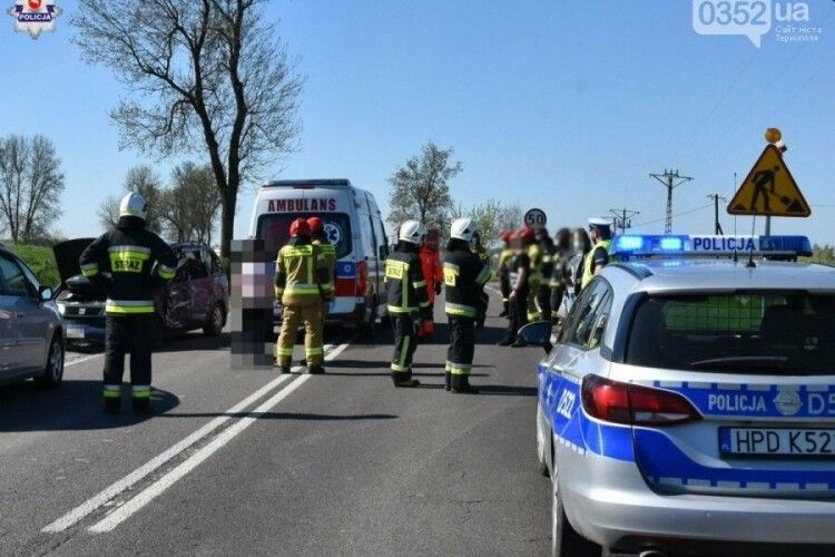 У Польщі в ДТП загинув 9-річний українець: подробиці аварії (Фото)