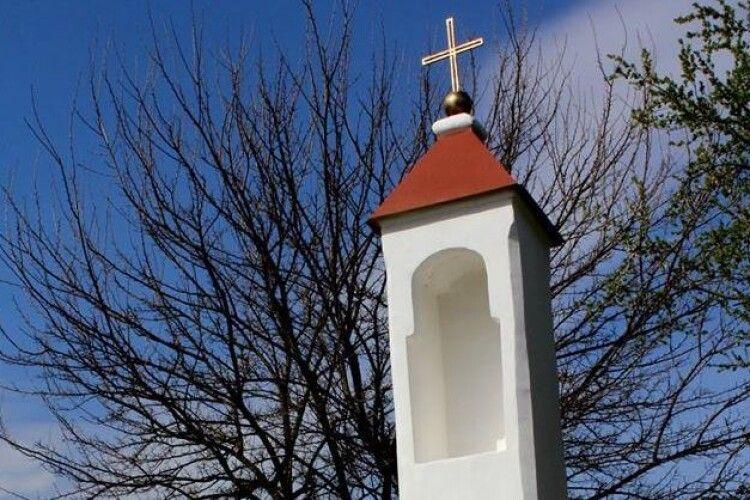У Любомлі відреставрували капличку святого Яна Непомука