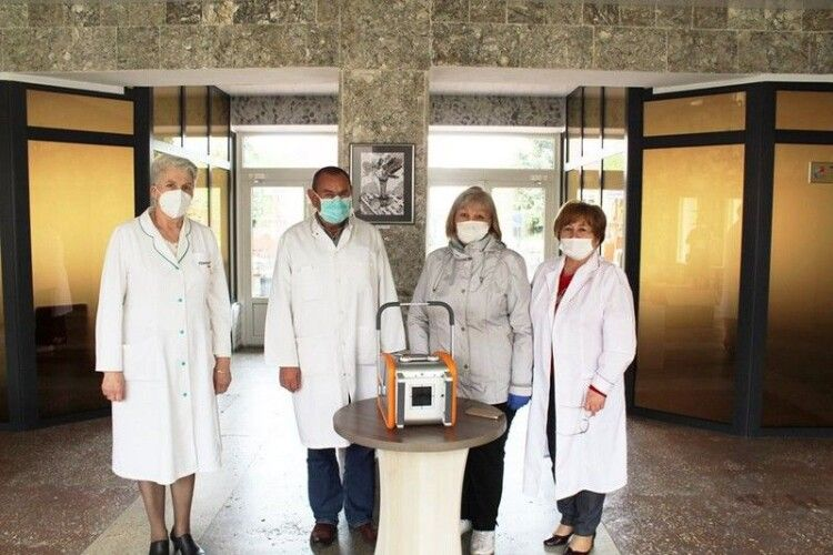 Почесний громадянин Ковеля посприяв у придбанні пересувного рентгенівського діагностичного апарата