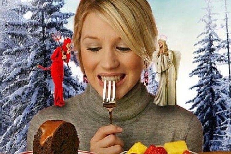 Чому взимку ми набираємо вагу