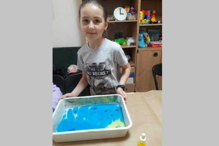У Луцьку пройшов майстер-клас «Світ кольорових фантазій»