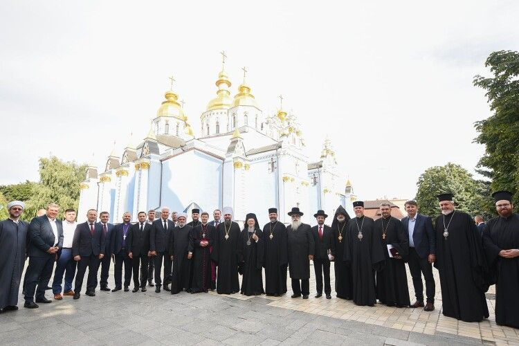 Українські католики, протестанти, мусульмани та юдеї зустрілися із Вселенським Патріархом Варфоломієм