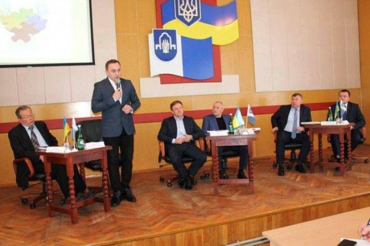 На Ратнівщині провели перше засідання Ради регіонального розвитку