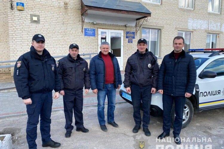 У селі біля Володимира-Волинського відкрили поліцейську станцію