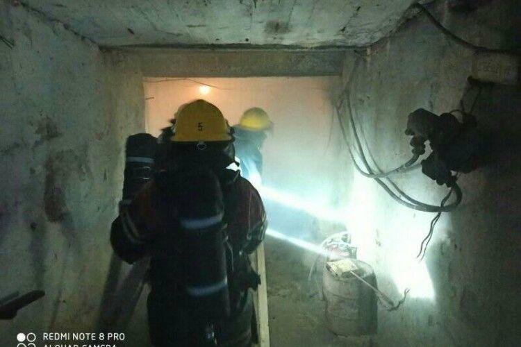На Волині рятувальники провели екстремальні навчання (Фото, Відео)
