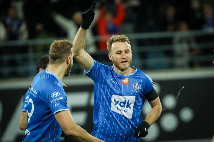 Роман Безус відзначився дублем в чемпіонаті Бельгії