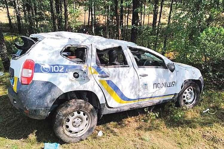 За чиї гроші ремонтуватимуть поліцейське авто?
