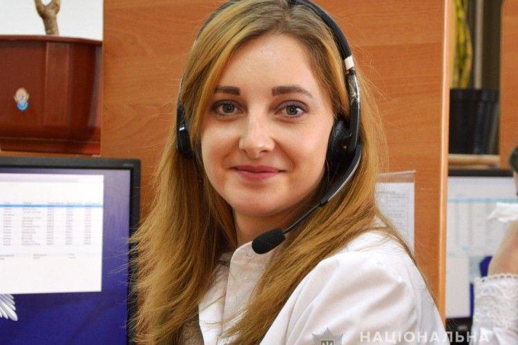 Оператор служби «102»Ольга Михалик врятувала життя 19-річному волинянину
