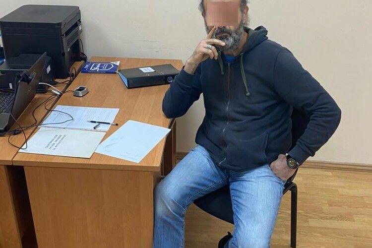 У «Ягодині» затримали турка з підробленими документами