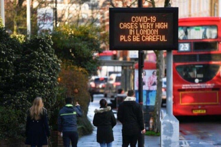 У Великій Британії протягом доби жодна людина не померла від коронавірусу, в Україні – 163