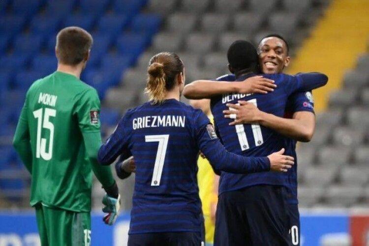 Українець Сергій Малий приніс збірній Франції перемогу над збірною Казахстану
