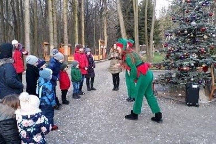 Подарунок любешівським дітям від лісівників