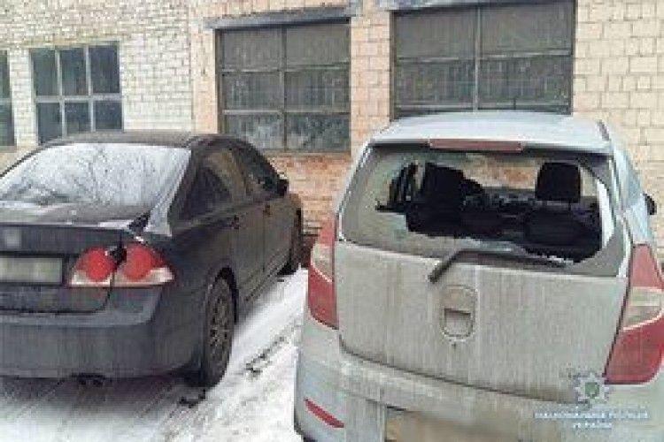 Одесита, який сокирою розтрощив авто під судом у Києві, взяли під цілодобовий домашній арешт
