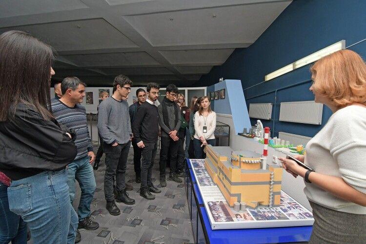 Турецькі школярі побували на Рівненській АЕС