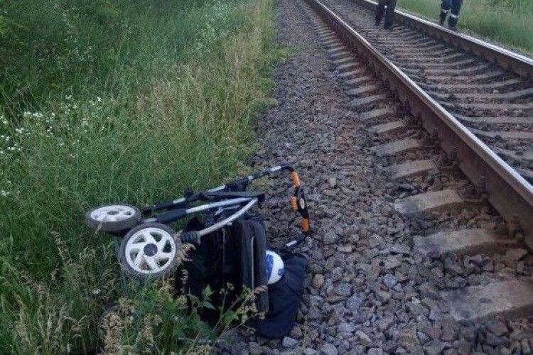 Потяг наїхав на півторарічну дитину