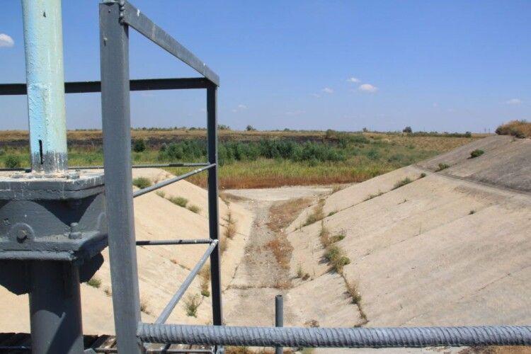 Україна відновить постачання води в Крим лише після його деокупації