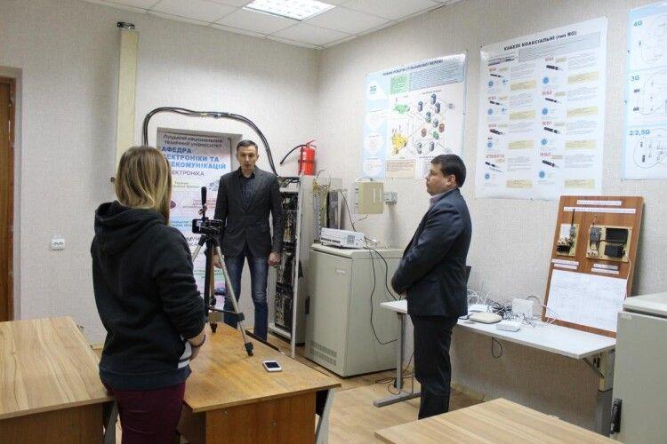 У Луцькому технічному університеті відкрили лабораторію мобільного зв'язку