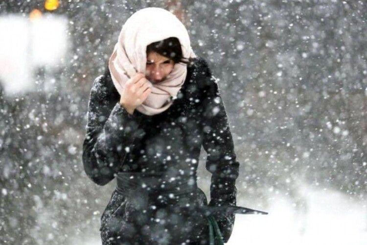 На Волині наступного тижня очікують сильні снігопади