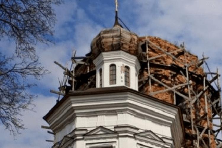Відновлюють унікальну церкву, вякій Мазепа, ймовірно, уклав союз ізШвецією