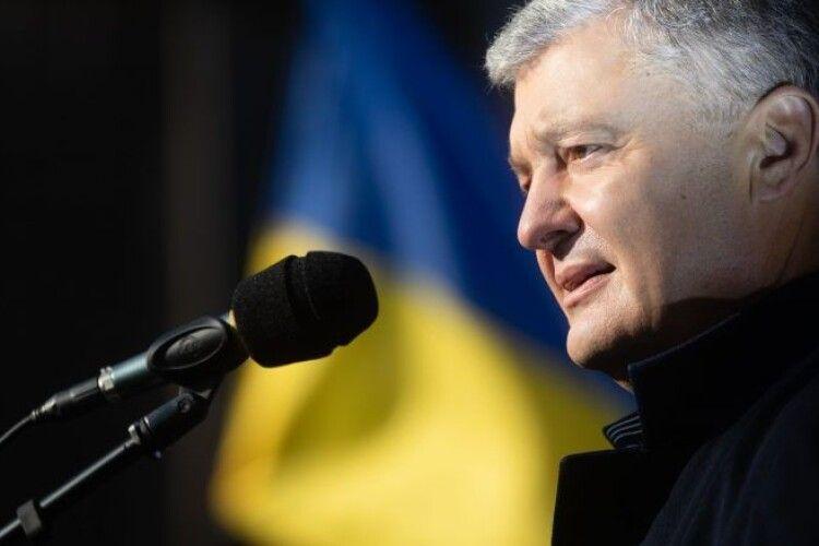Перемога «Європейської Солідарності» засвідчила, що ми партія, яка об'єднує всю Україну – Порошенко у Львові