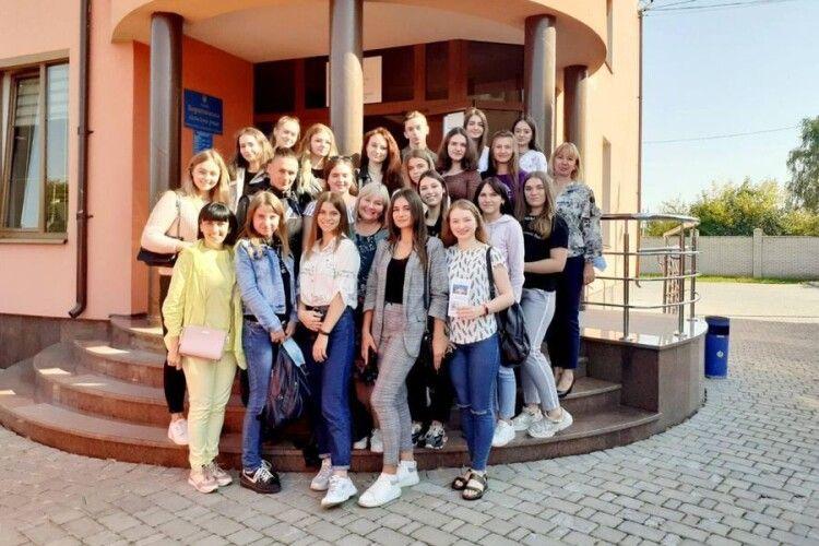 Луцькі студенти відвідали одну з найуспішніших волинських ОТГ