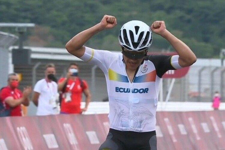 Еквадорський велогонщик здобув олімпійське «золото», яке стало для його країни лише другим в історії