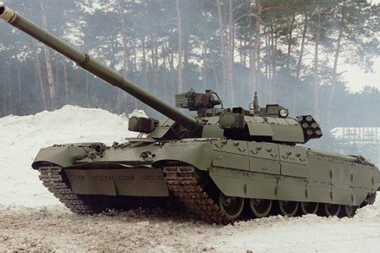 Росія використовувала на Донбасі свій найпотужніший танк