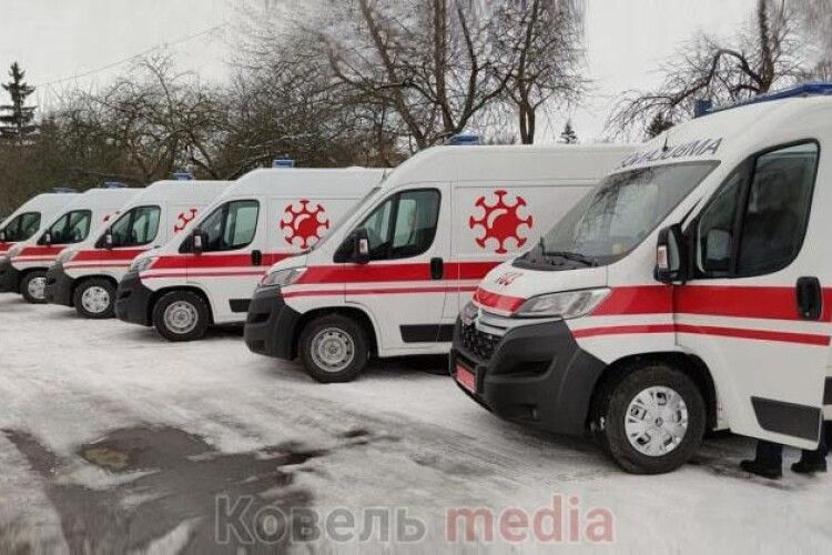 На Ковельщині створено 2 мобільні бригади для вакцинації
