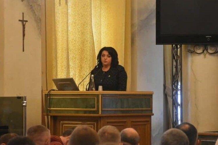 Головою Львівської обласної ради обрана Ірина Гримак з «Європейської Солідарності»