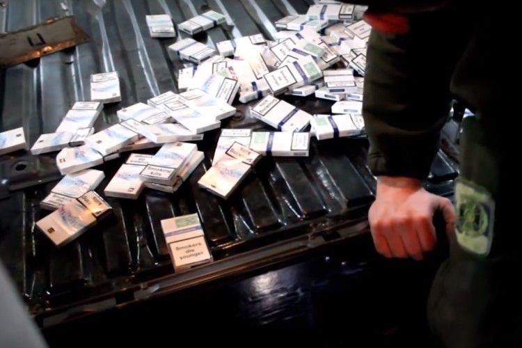 Виявили понад чотири тисячі пачок контрабандних сигарет (Відео)