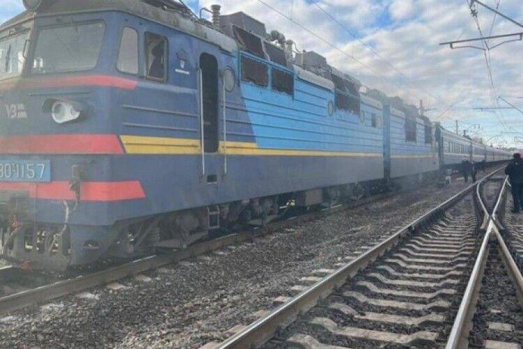 На Рівненщині під час руху загорівся поїзд, де перебувало більш ніж 250 людей