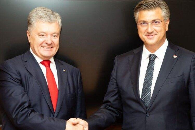 Великий друг України: Петро Порошенко зустрівся з Андреєм Плєнковічем