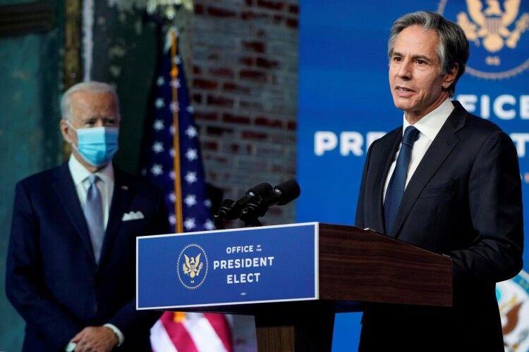 Сенат схвалив кандидатуру Ентоні Блінкена на посаду держсекретаря США
