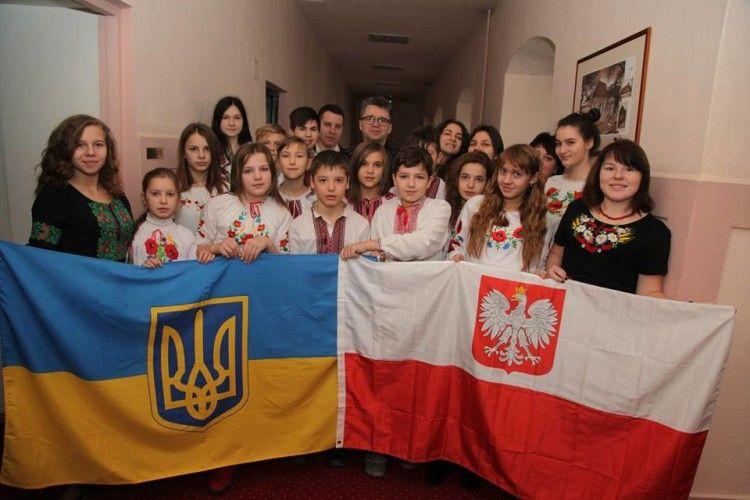 Діти волинських героїв відвідали різдвяний Люблін
