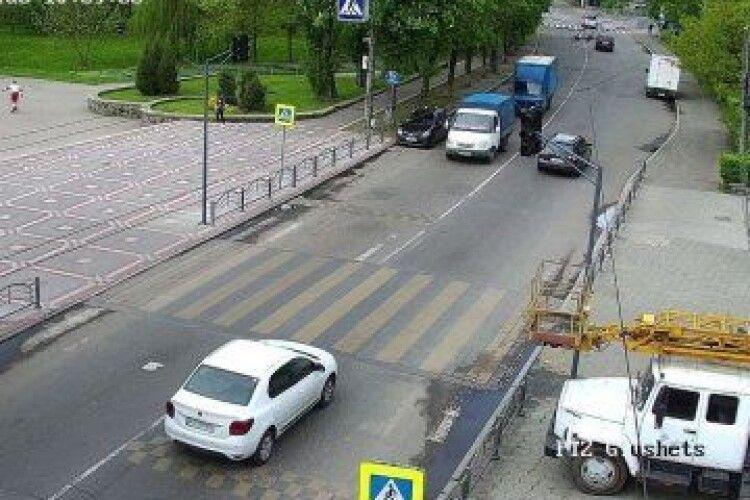 Безпечний парк: у Луцьку встановлюють світлофор