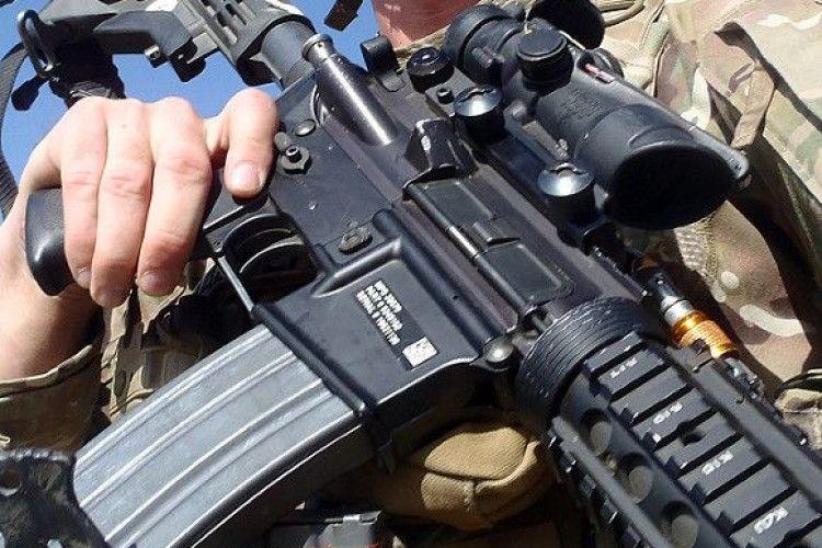 Виявляється, що американська зброя вже на передовій