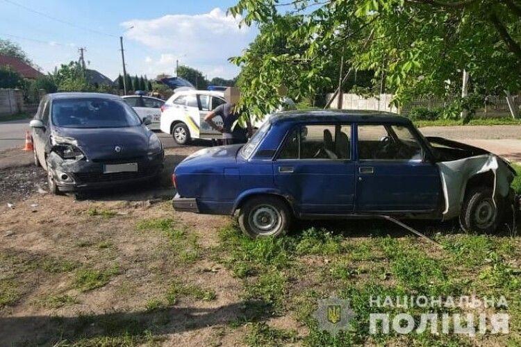У Луцьку в аварії постраждав водій «Жигулі» (Фото)