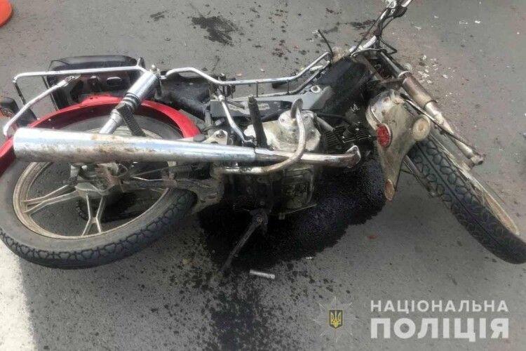 З початку квітня на Рівненщині вже сталося 24 ДТП за участю мотоциклів: двоє загиблих, 17 травмованих