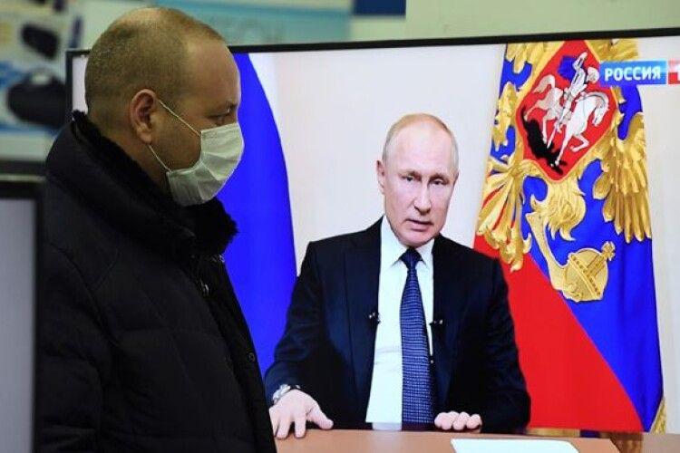 Путіну довіряє вже менше чверті росіян
